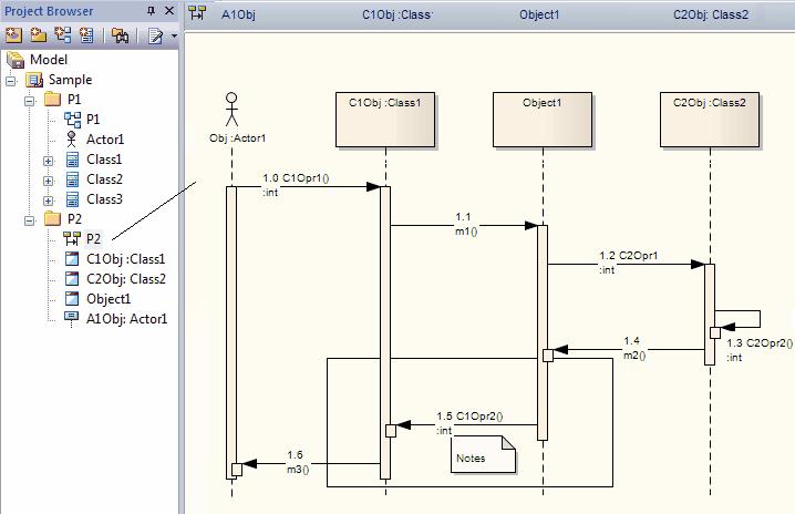 Sequence diagrams and version control enterprise architect user guide seqdiagverscntrl ccuart Choice Image