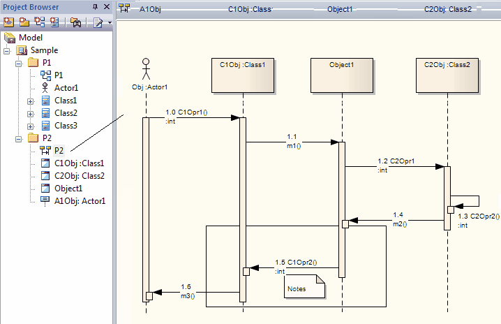 Sequence diagrams and version control enterprise architect user guide this diagram is not damaged because all the lifelines are objects and these objects reside in the same package as the sequence diagram ccuart Images