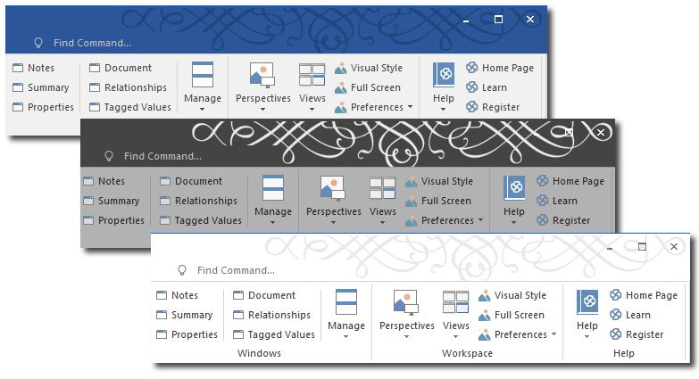 Visual styles enterprise architect user guide for Enterprise architect vs