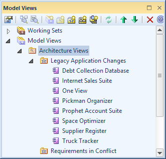 The Model Search Facility Is Another Tool That Can Create A List Of Applications Or Interfaces Based On Predefined User Created Criteria