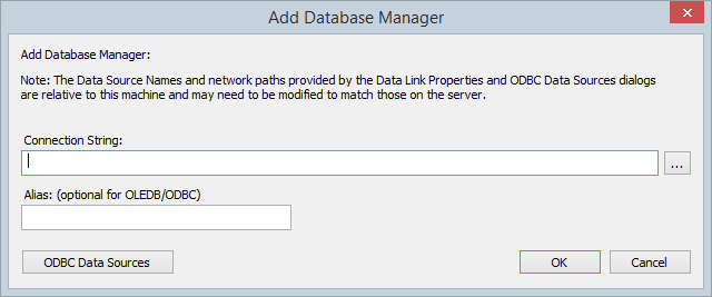 Add Database Manager | Enterprise Architect User Guide