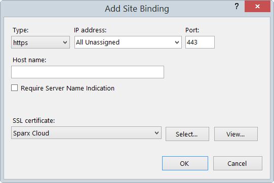 Cloud Service using IIS (Optional) | Enterprise Architect User Guide