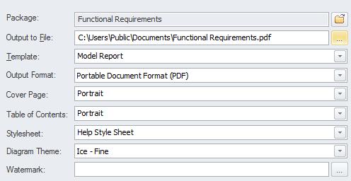 Use case report | enterprise architect user guide.