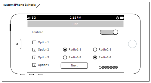 Apple iPhone/Tablet Wireframe Toolbox | Enterprise Architect