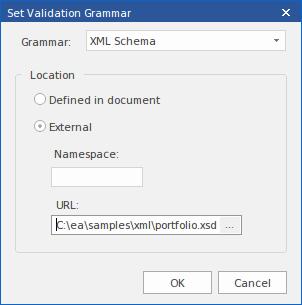 XML Validation | Enterprise Architect User Guide
