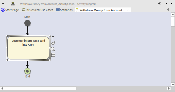 Generate Activity Diagram Enterprise Architect User Guide