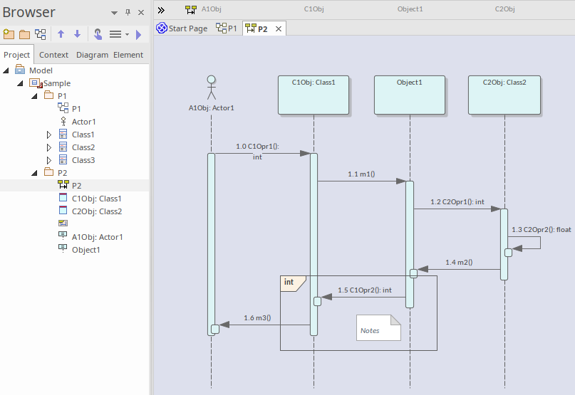 Sequence Diagrams And Version Control