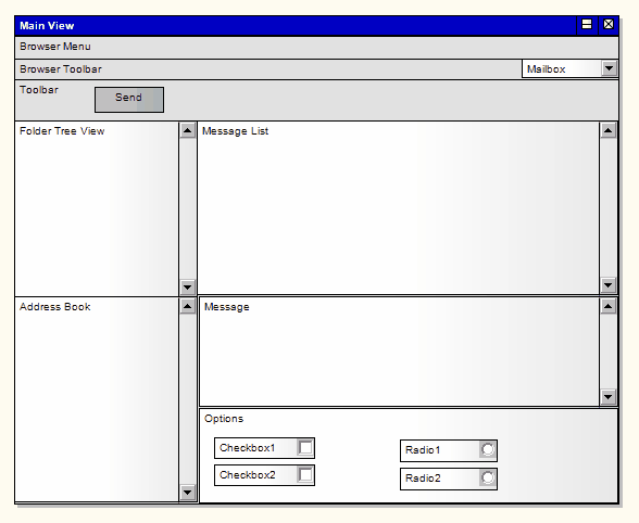 Example of a User Interface