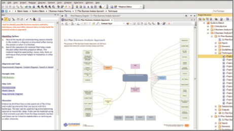 Implementing BABOK® with Enterprise Architect