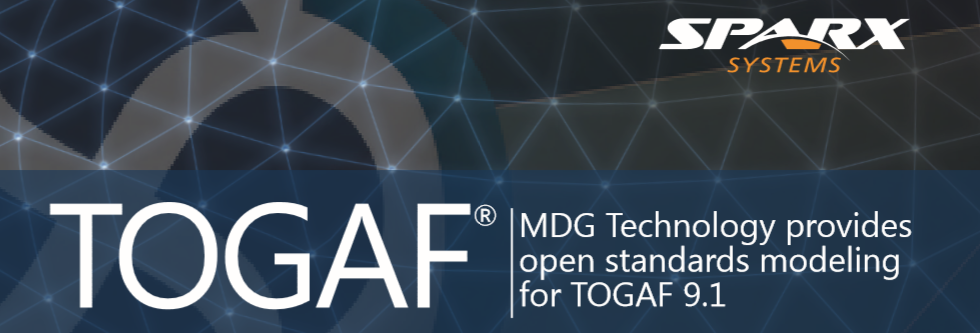 Enterprise Architect MDG Technology for TOGAF