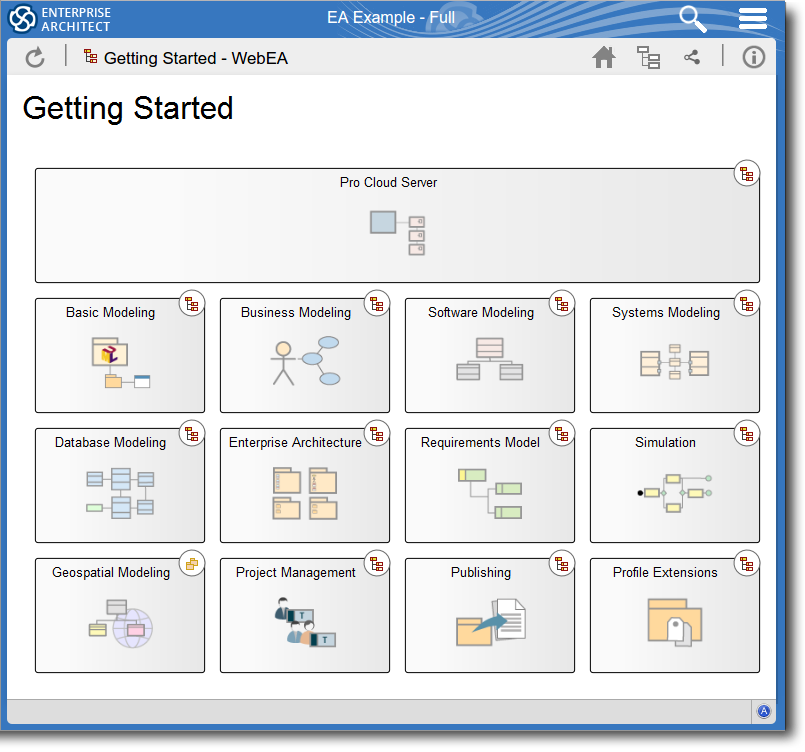 Enterprise Architect 13.5 Beta: Navigation Cells