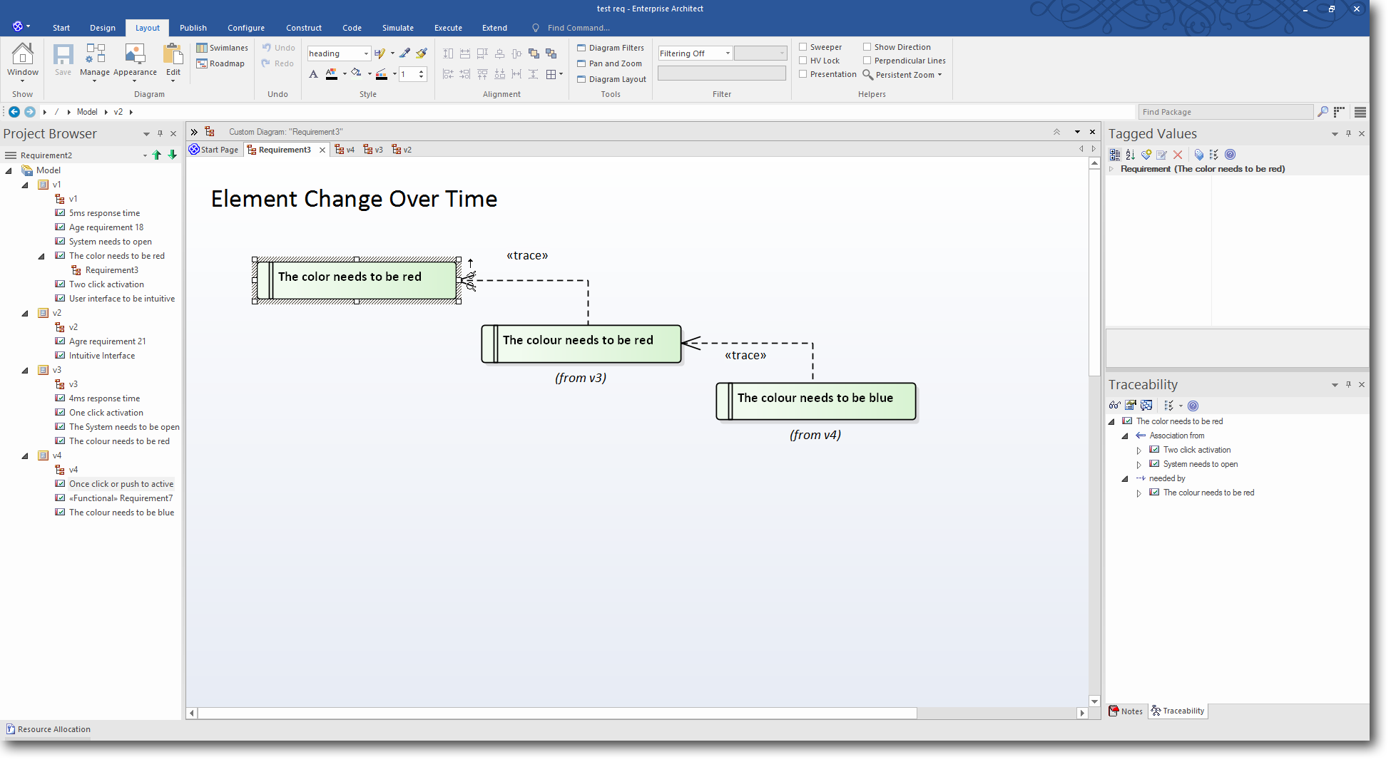 Enterprise Architect 13: Time Aware Modeling