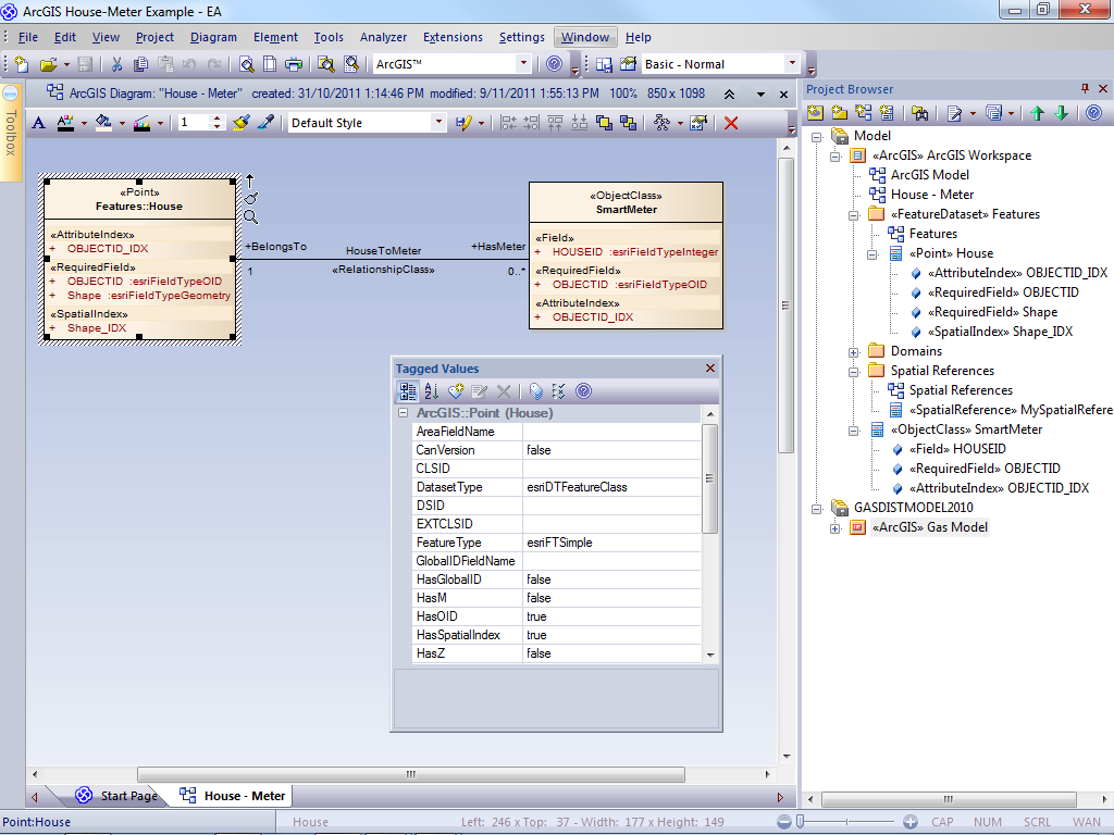 Enterprise Architect 92 Sparxsystems Europe Reading Sample Project Development With Uml And Arcgis