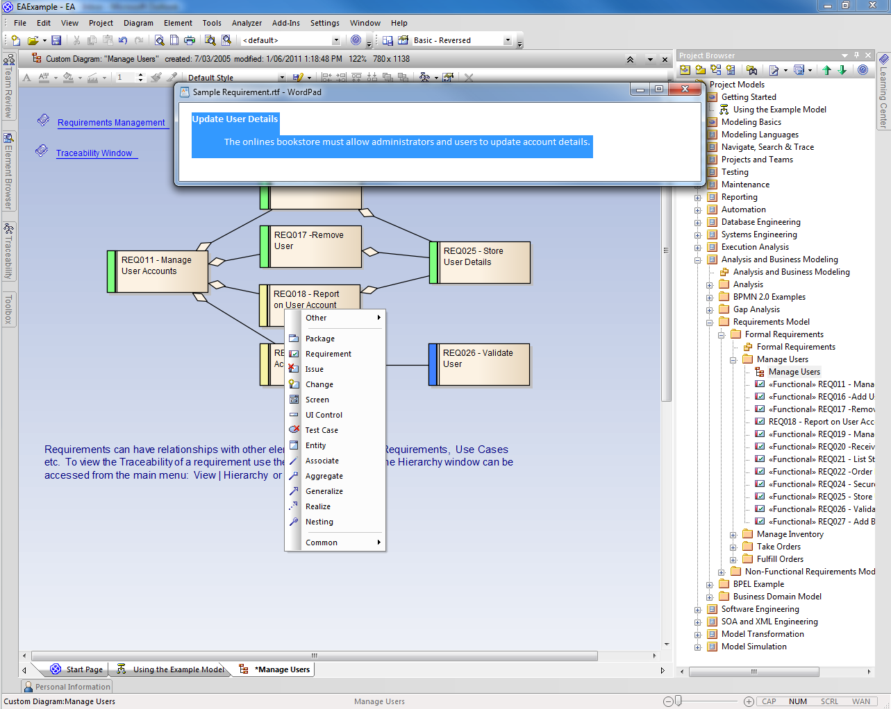 Requirements management and modeling using enterprise architect gather requirements ccuart Images