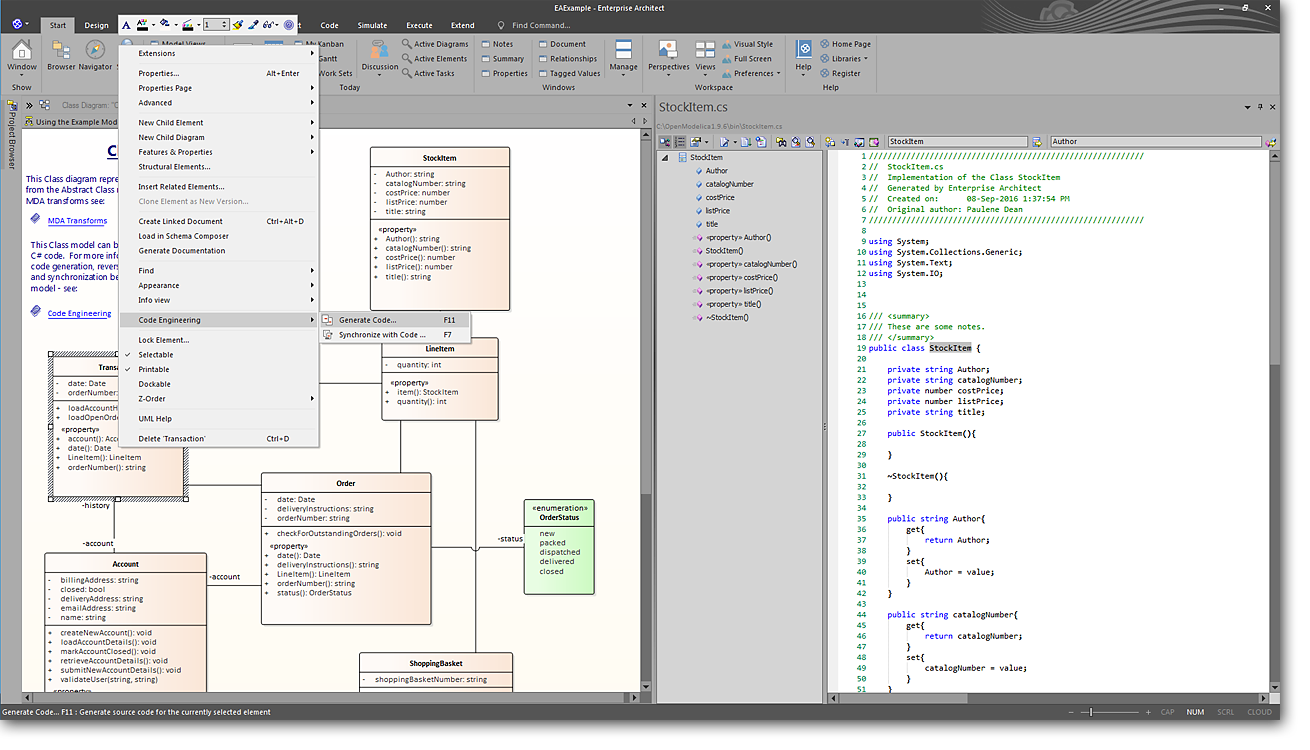 Full Lifecycle Modeling For Business Software And Systems Sparx Additionally Uml State Machine Diagram On Tool Diagrams Automation