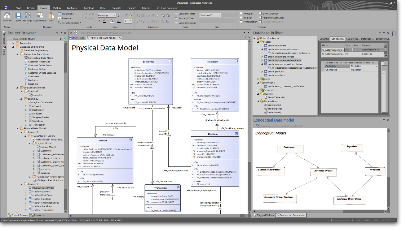 full lifecycle modeling for business software and systems sparx
