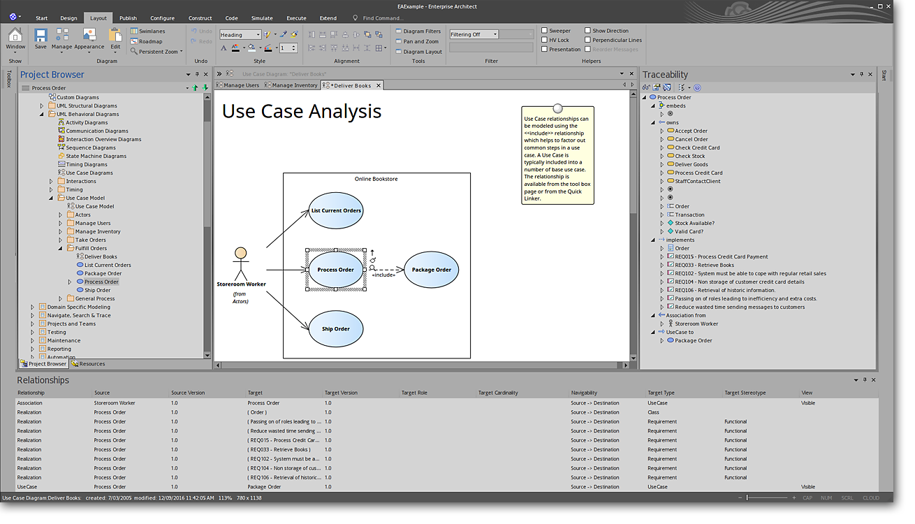 Full lifecycle modeling for business software and systems sparx manage complex information ccuart Images