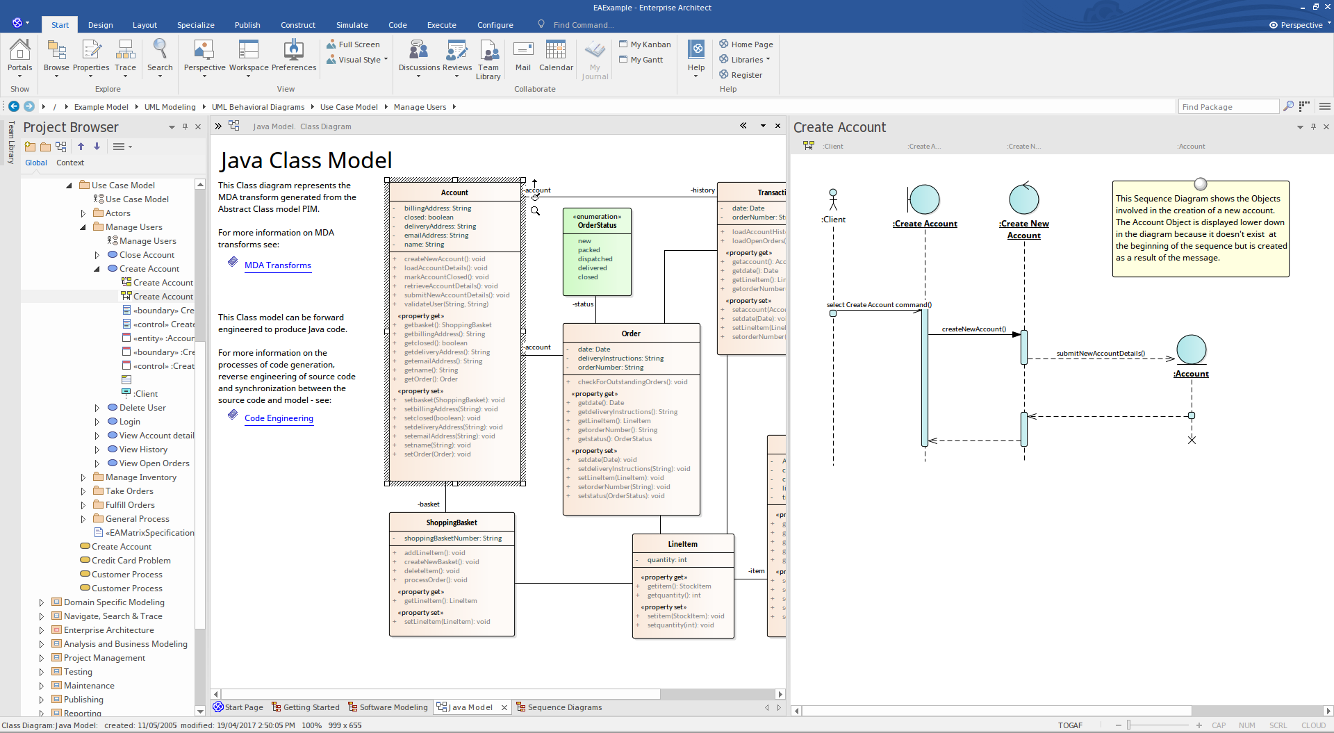 Enterprise Architect Professional Edition: UML Modeling