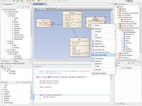 Navegación entre el modelo y código