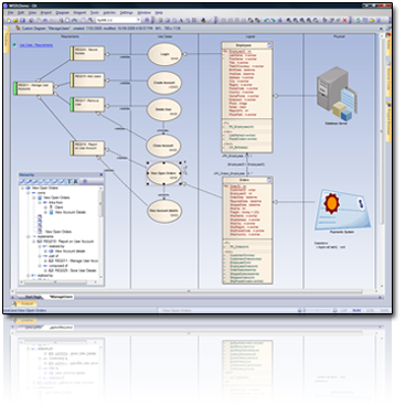 Click to view Enterprise Architect for UML 2.3 9 screenshot