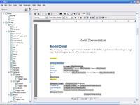 RTF Template Editor in Enterprise Architect