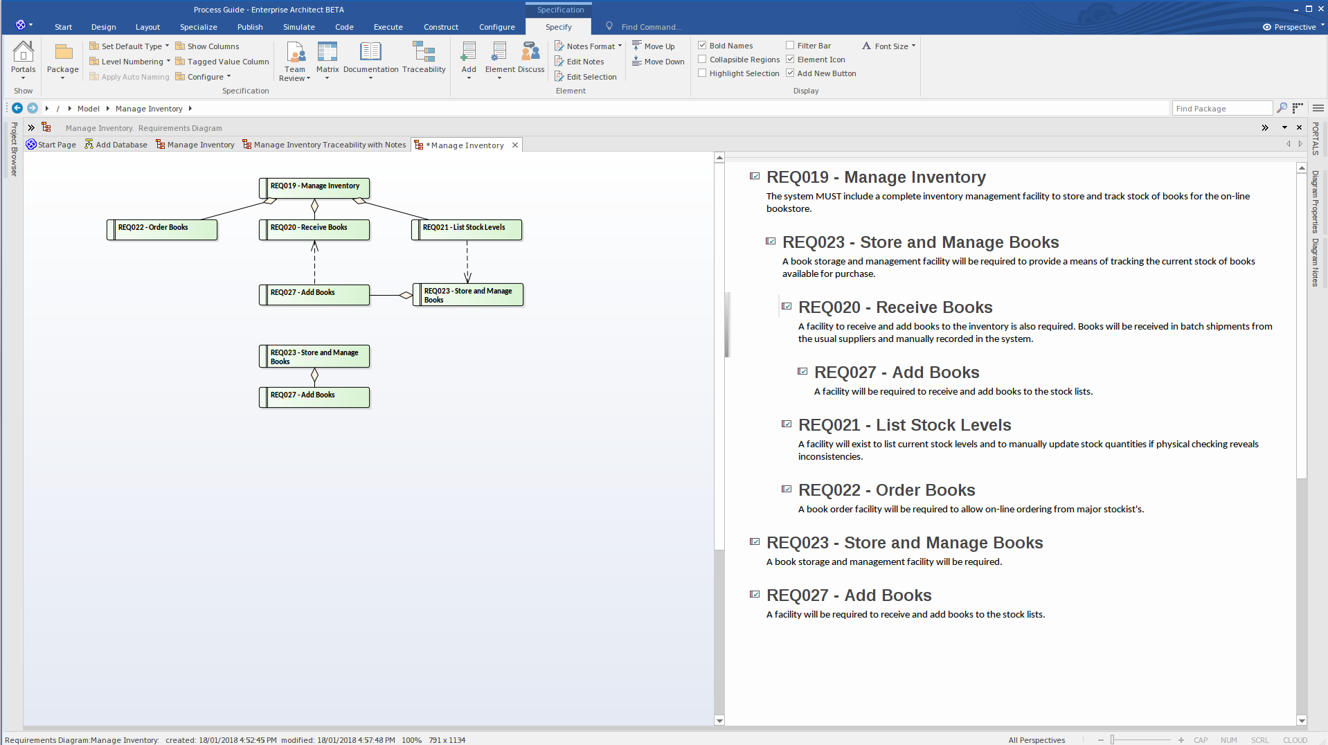 Enterprise Architect version 14 | Sparx Systems