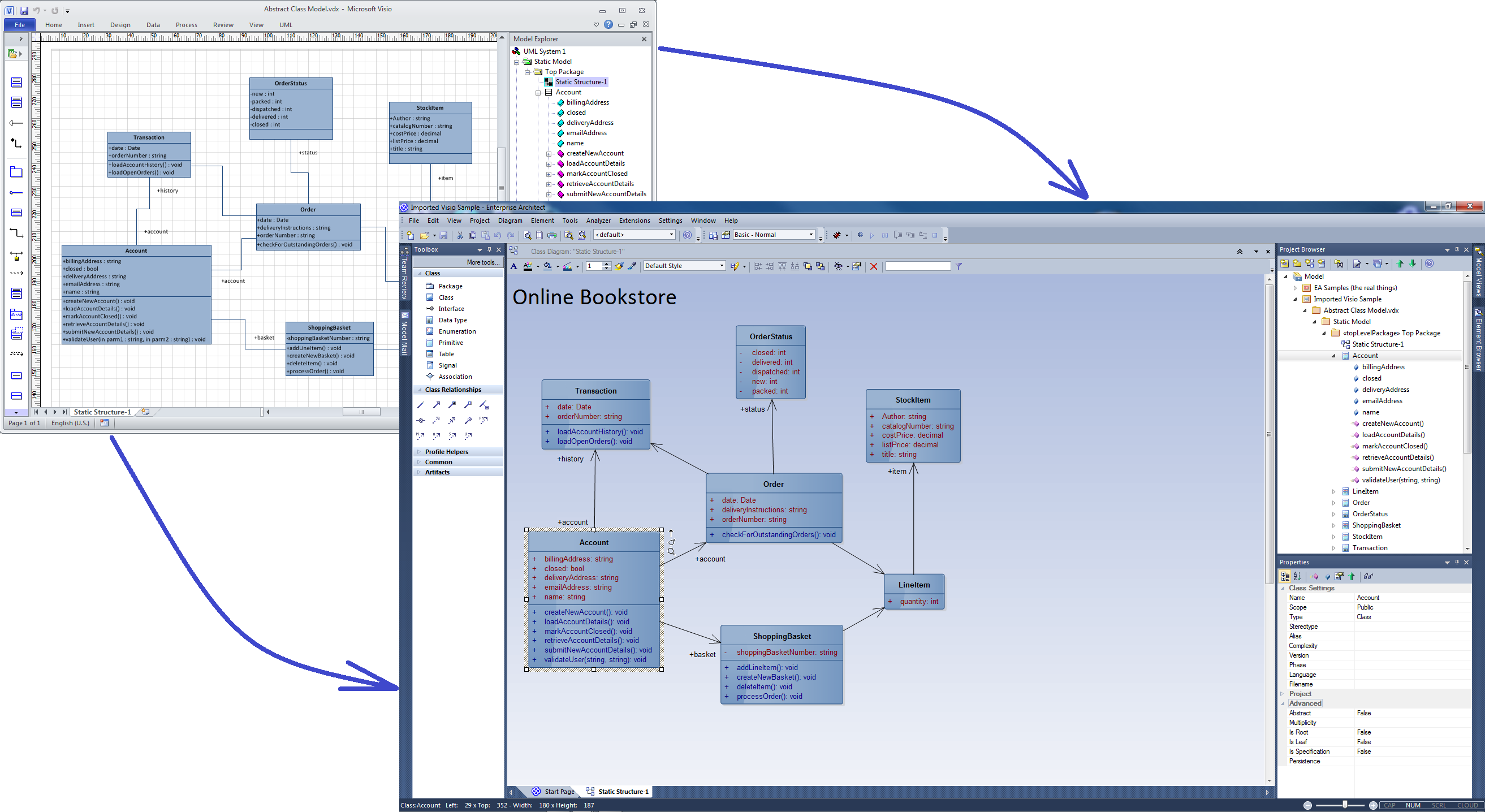 Moving Visio Diagrams Into Enterprise Architect Sparx Systems State Diagram Example Online Store Uml Machine