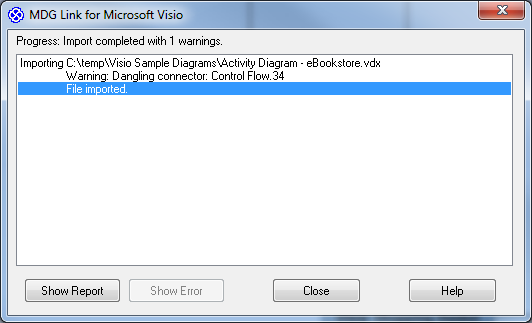 Importing Visio Diagrams into Enterprise Architect | Sparx Systems