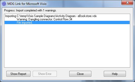 Importing visio diagrams into enterprise architect highlight an error in the original visio diagram ccuart Images